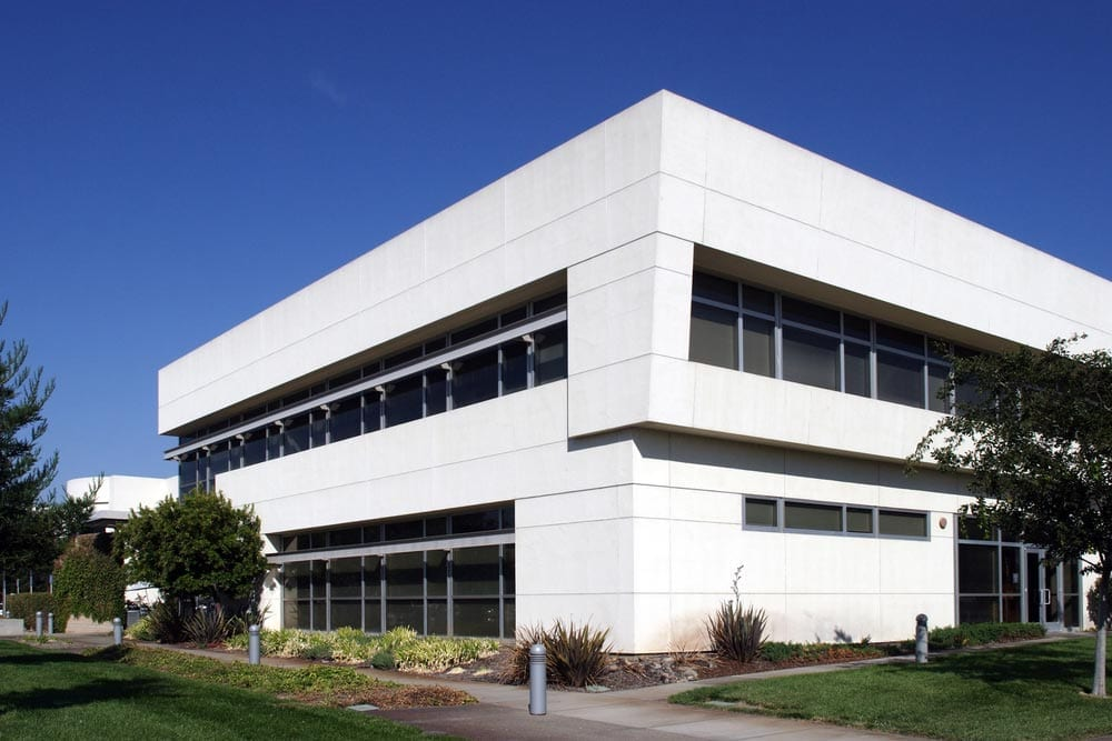 office building white