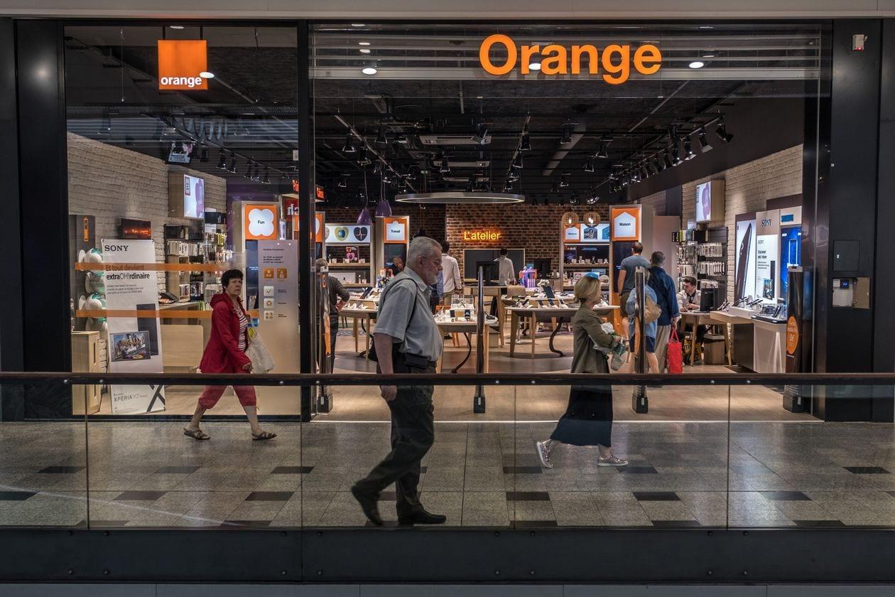 orange SA telecommunicatons company